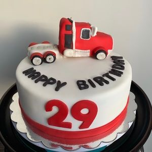 Tow Truck Themed Cake 🔥